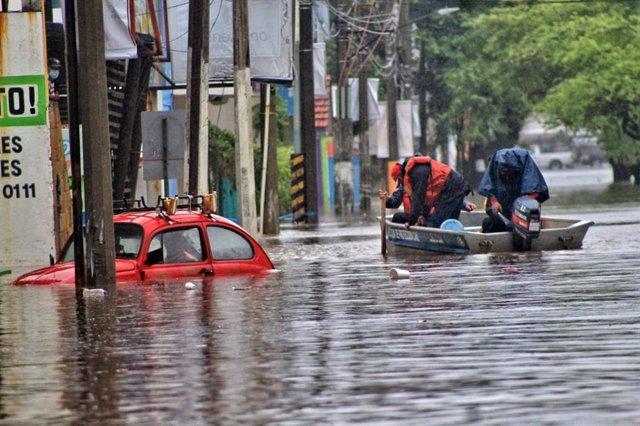 Inundaciones en Tabasco, México