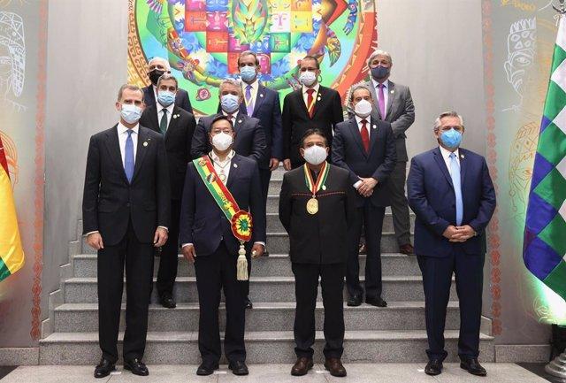 Viaje del Rey Felipe VI a Bolivia.