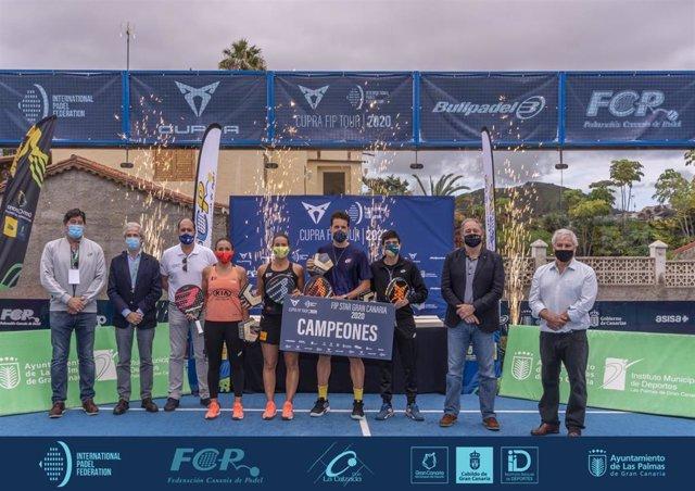 Del Castillo-Pérez y Riera-Araujo, campeones del FIP Star Gran Canaria