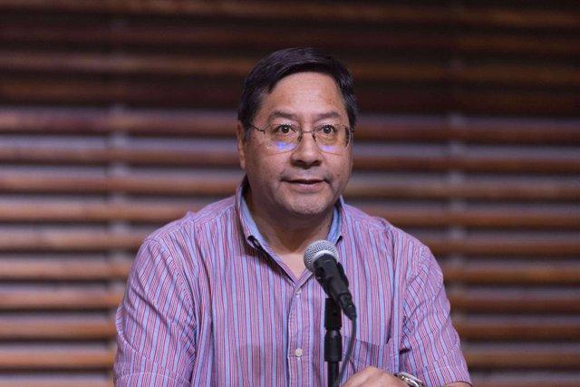 El president de Bolívia, Luis Arce.