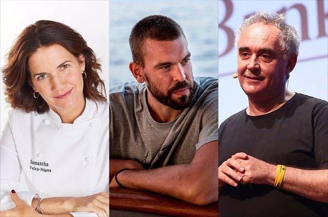 Samantha Vallejo-Nágera, Marc Gasol y Ferran Adrià son los tres primeros protagonistas del programa de educación financiera Mucho por Hacer impulsado por CaixaBank