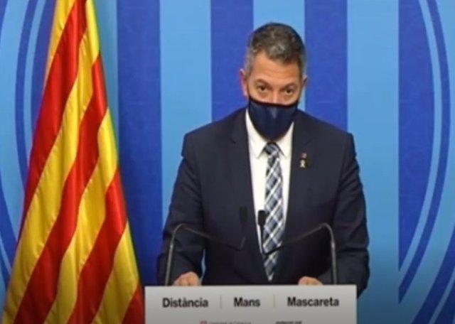 Miquel Sàmper anuncia una pròrroga del confinament nocturn fins al 27 de novembre