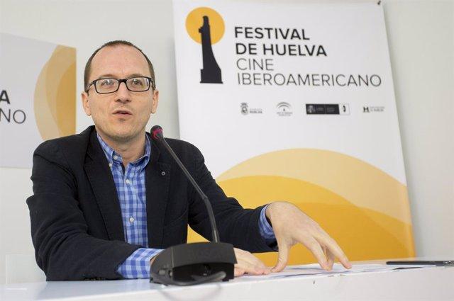 El director del Festival de Cine de Huelva, Manuel H. Martín.