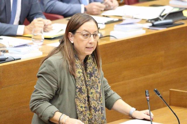 Llanos Massó, portavoz adjunta del Grupo Parlamentario VOX en las Corts Valencianes