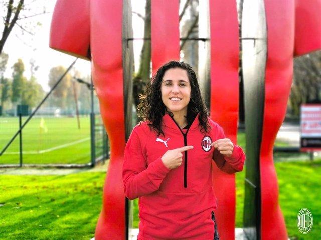 La jugadora internacional española Vero Boquete ficha por el AC Milan femenino