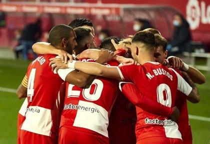 (Crónica) El Girona evita el mancillamiento de Montilivi ante un Las Palmas mejor