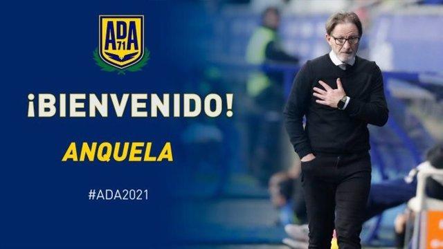 Juan Antonio Anquela, nuevo entrenador de la AD Alcorcón hasta final de temporada 2020/21