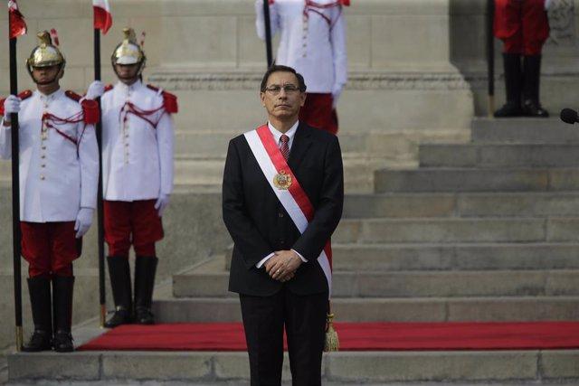 El presidente de Perú, Martin Vizcarra.
