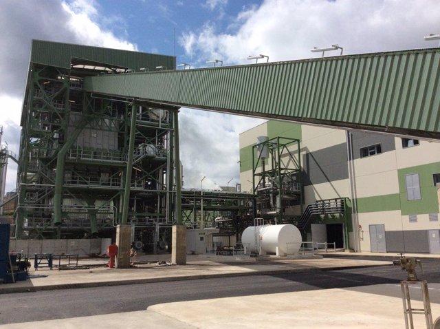 Planta de biomasa de Mérida