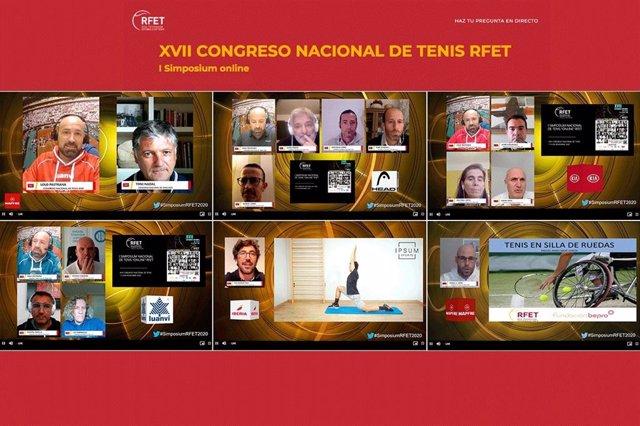 I Simposium Online - XVII Congreso Nacional de Tenis RFET