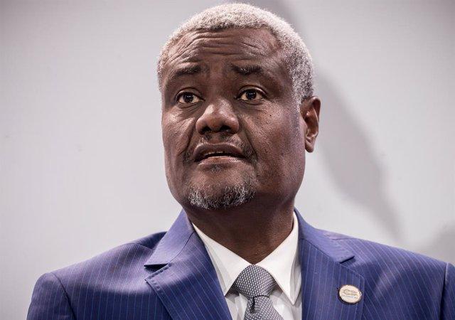 El presidente de la Comisión de la Unión Africana (UA), Moussa Faki Mahamat