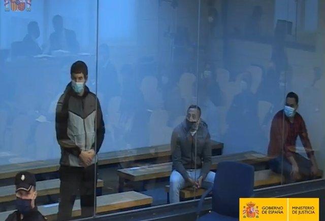 L'Audiència Nacional jutja els tres acusats de formar part de la cèl·lula gihadista que va atemptar a Catalunya el 17 d'agost del 2017