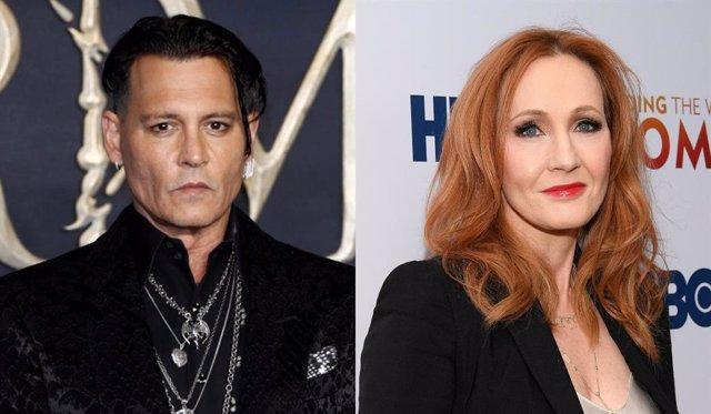 Johnny Depp se queda sin el apoyo de J.K. Rowling tras su salida de Animales Fantásticos 3
