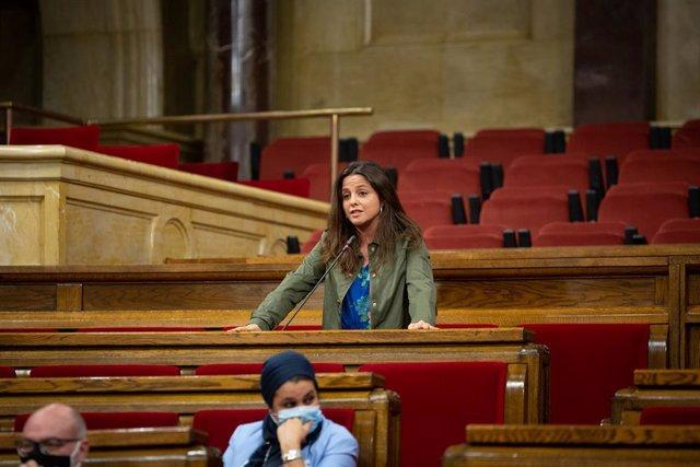 La diputada de la CUP al Parlament, Maria Sirvent, el 9 de setembre del 2020.
