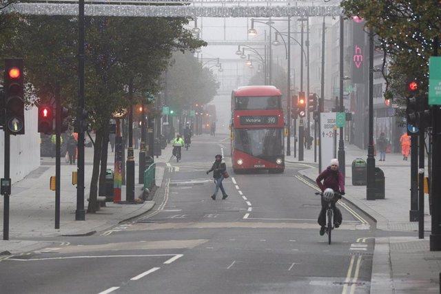 Londres, durante la pandemia de la COVID-19.