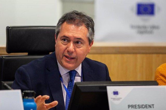 Espadas, en una imagen de archivo en el Comité Europeo de las Regiones