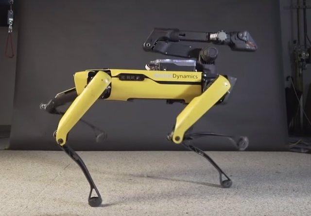SpotMini, el perro-robot de Boston Dynamics, baila al ritmo de Bruno Mars