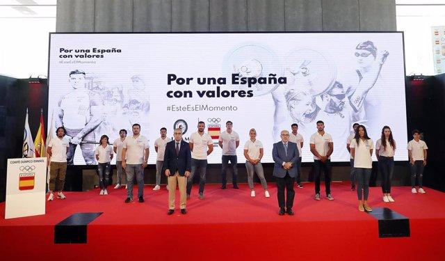 Imagen de la presentación de 'Por una España con valores'