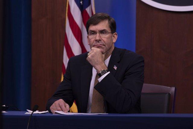 L'antic secretari de Defensa dels Estats Units, Mark Esper.