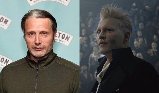 Mads Mikkelsen es el elegido para sustituir a Johnny Depp en Animales Fantásticos 3