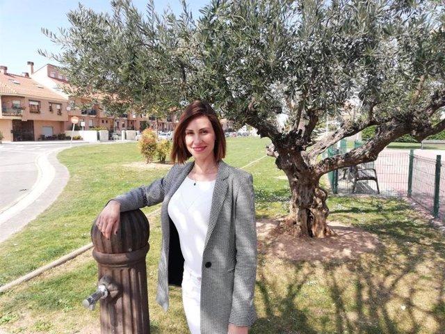 Raquel Cabrera, concejala de UPyD en Lardero