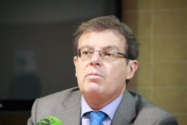 El rector de la UCLM, Miguel Ángel Collado, en una foto de archivo