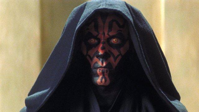 Darth Maul en Star Wars: La amenaza fantasma