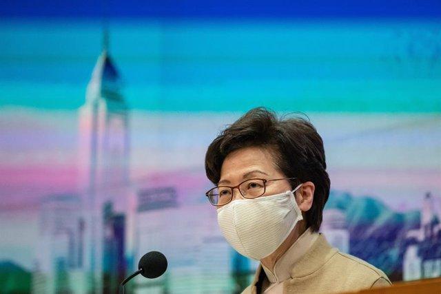 Carrie Lam, jefa de Gobierno en Hong Kong