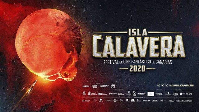 Cartel anunciador del festival de cine fantástico 'Isla Calavera'