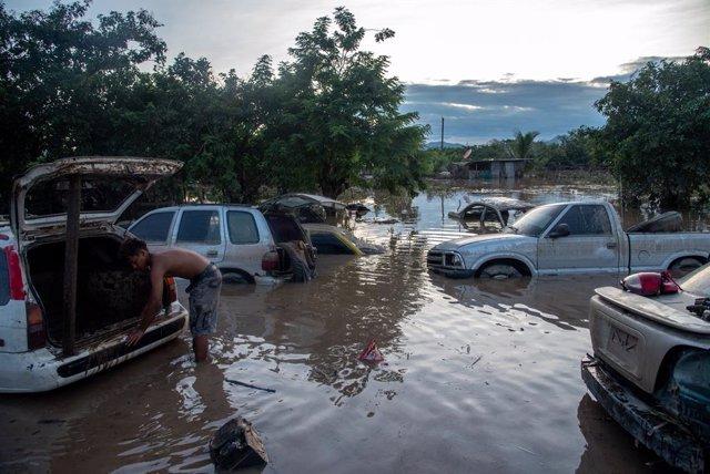 Imagen de archivo de los estragos causados por el huracán 'Eta' a su paso por Centroamérica.