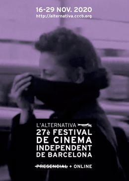 Cartel del festival L'Alternativa 2020
