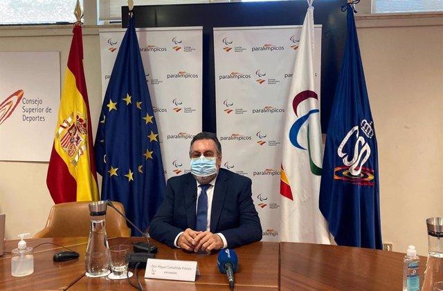 Miguel Carballeda ha sido reelegido como presidente del Comité Paralímpico Español (CPE) hasta 2024