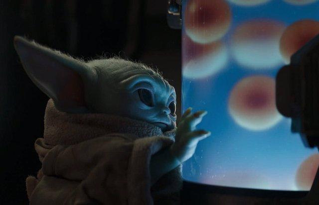 Baby Yoda, un glotón en The Mandalorian