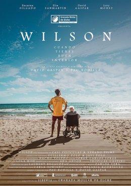 Cartel del cortometraje Wilson
