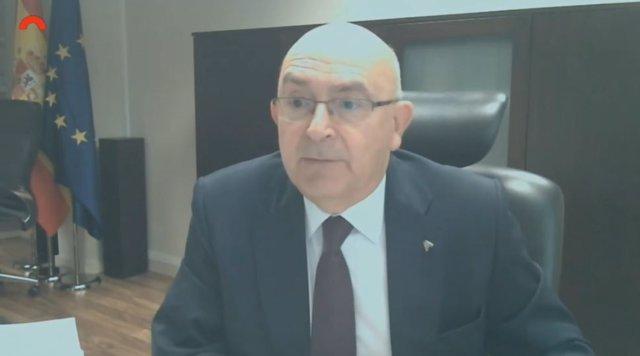 El director de l'Oficina Antifrau, Miguel Ángel Gimeno.