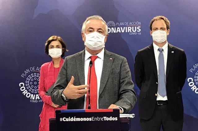 El exministro de Salud de Chile Jaime Mañalich.
