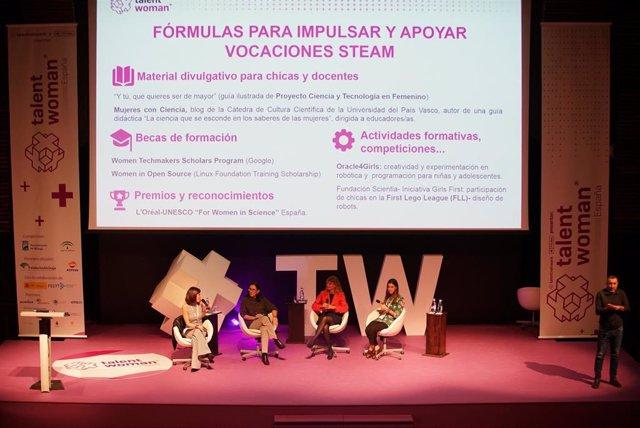 Foto de archivo de Talent Woman 2019 en el Palacio de Ferias y Congresos de Málaga