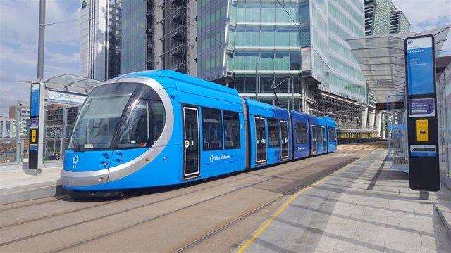 Tranvías de CAF para Birmingham