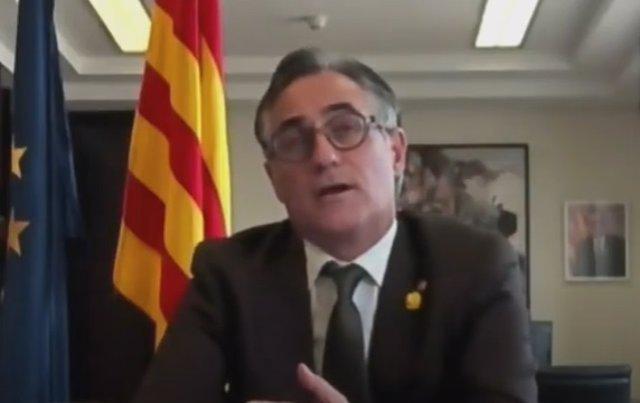 El conseller de Empresa y Conocimiento de la Generalitat, Ramon Tremosa.