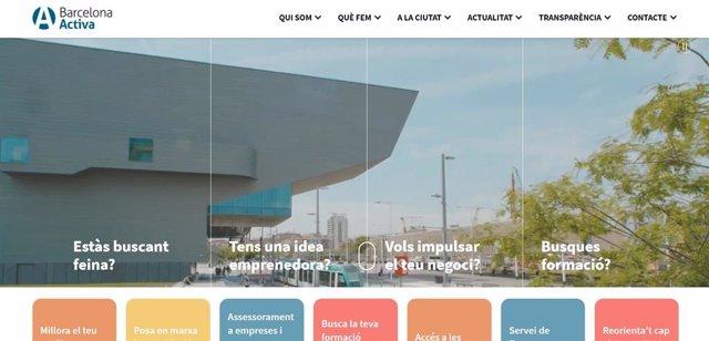 Barcelona Activa estrena nova pàgina web més intuïtiva per apropar-se a la ciutadania