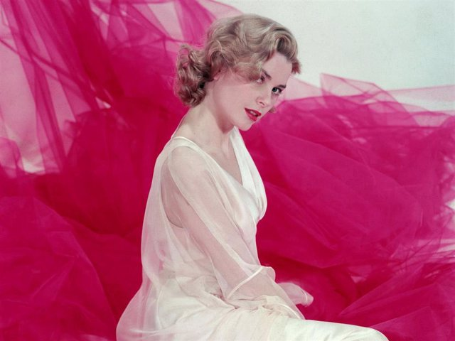 Grace Kelly (1929-1982), is shown in this portrait in the early 1950s.