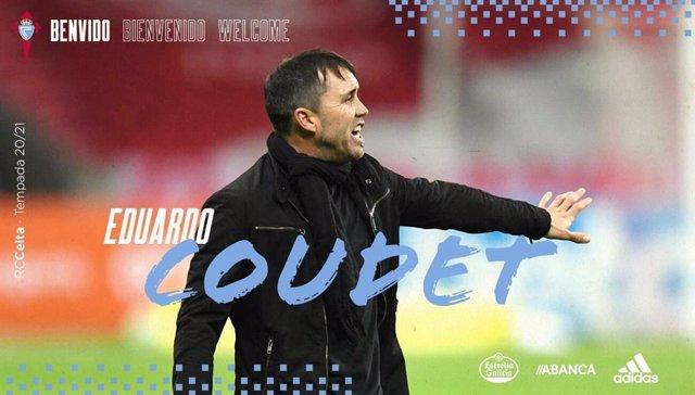Eduardo Coudet, entrenador del RC Celta de Vigo hasta la temporada 2021/22