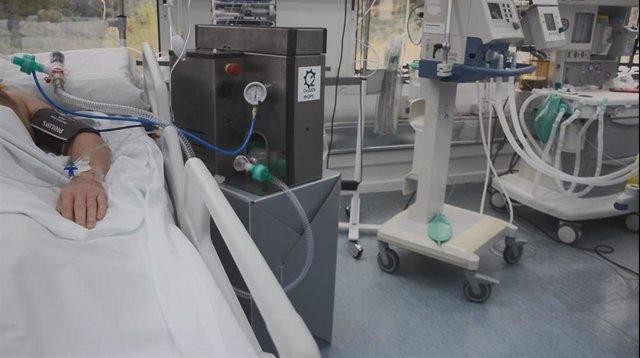 Un dispositivo de ventilación de emergencias, aprobado para un estudio clínico
