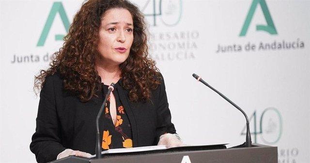 Inmaculada Nieto, parlamentaria de Adelante Andalucía