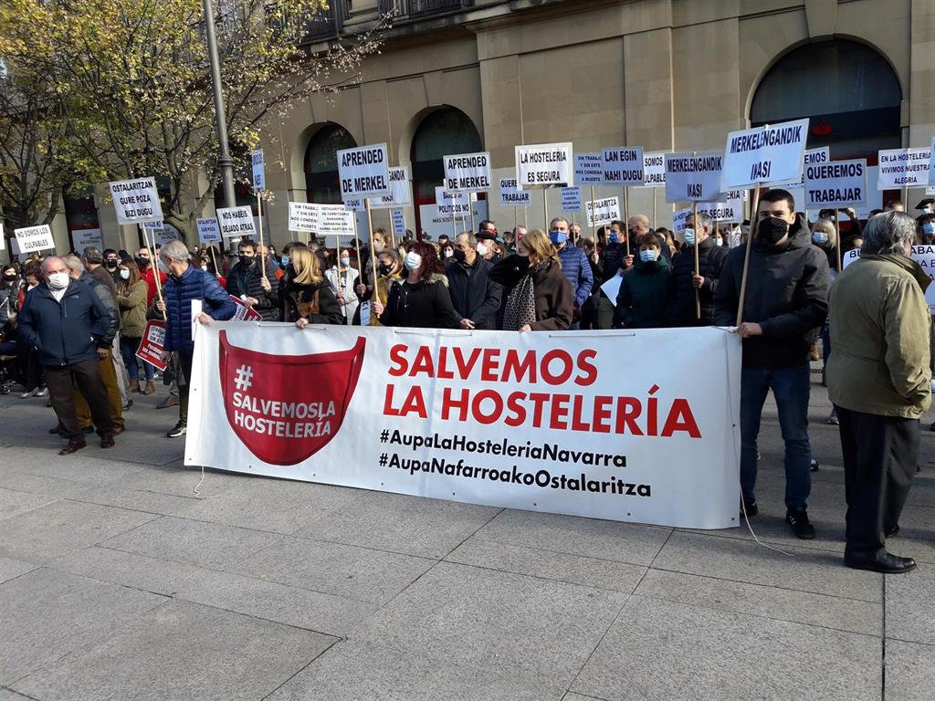 Los hoteleros navarros piden «un rescate» tanto para el sector como para el sector bancario en la crisis anterior