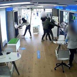 Imatge dels detinguts en un dels robatoris. (Horitzontal)
