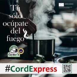 Campaña 'CORDEXPRESS, Tú sólo ocúpate del fuego'