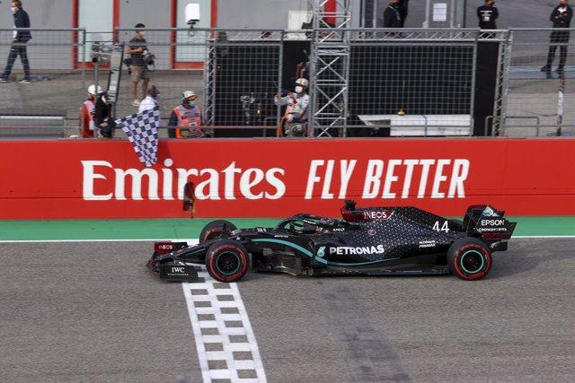 Lewis Hamilton logra una victoria