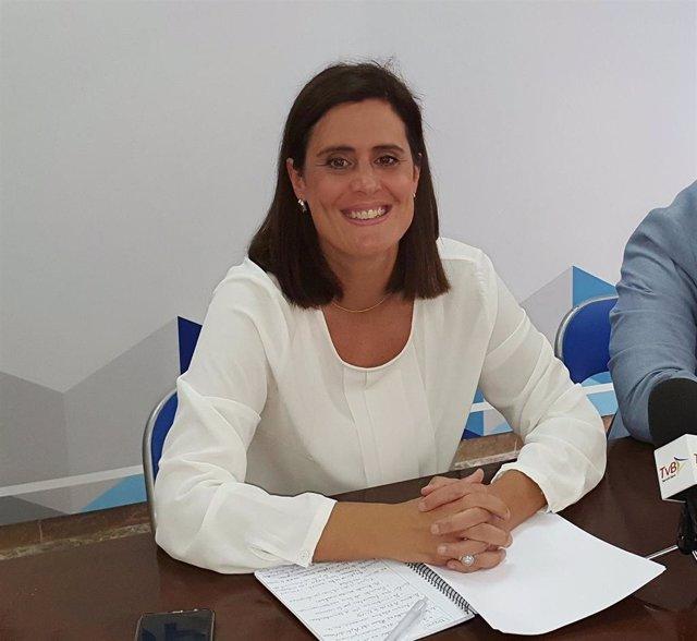 La alcaldesa de Baena, Cristina Piernagorda, en una imagen de archivo