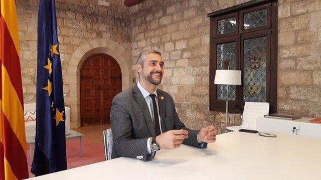 El conseller d'Acció Exterior, Relacions Institucionals i Transparència de la Generalitat, Bernat Solé.